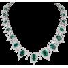 DIAMOND SCENE emerald and diamond - Halsketten -
