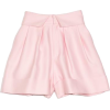 DICE KAYEK Pleated Cuffed Shorts in Pink - Shorts -