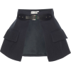 DICE KAYEK black mini skirt - Skirts -