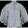 DICE KAYEK black & white checkered - Srajce - kratke -