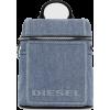 DIESEL ERACLEA II Compact denim backpack - Backpacks -