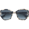 DIOR EYEWEAR oversized sunglasses - Sunglasses - $424.00