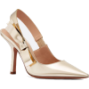 DIOR SWEET-D HIGH-HEELED SHOE IN GOLD-T - Classic shoes & Pumps -