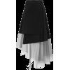 DKNY black & grey skirt - Skirts -