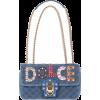 DOLCE & GABBANA Lucia velvet shoulder ba - ハンドバッグ - 1,750.00€  ~ ¥229,320