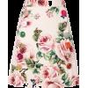 DOLCE & GABBANA rose print A-line skirt - Röcke -