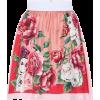 DOLCE & GABBANA Bedruckter Minirock aus - Skirts -