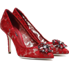 DOLCE & GABBANA Belluci embellished lace - Classic shoes & Pumps -