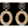 DOLCE & GABBANA 'Catena' hoops - Aretes -