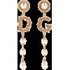 DOLCE & GABBANA Clip-on drop earrings - Earrings -
