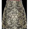 DOLCE & GABBANA Cotton-blend brocade min - Skirts -