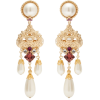 DOLCE & GABBANA  Crystal and faux-pearl - Earrings -