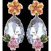 DOLCE & GABBANA Crystal pendant clip-on - Orecchine -