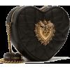 DOLCE & GABBANA DEVOTION BAG IN MATELASS - Messenger bags -