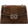 DOLCE & GABBANA DG AMORE BAG IN MIXED MA - Messenger bags -