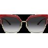 DOLCE & GABBANA DOUBLE LINE SUNGLASSES - Sunčane naočale -