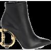 DOLCE & GABBANA Devotion leather ankle b - Stiefel -