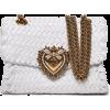 DOLCE & GABBANA Devotion small woven-lea - Borsette -