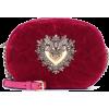DOLCE & GABBANA Devotion velvet crossbod - Hand bag -