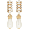 DOLCE & GABBANA Embellished clip-on earr - Ohrringe -