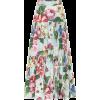 DOLCE & GABBANA Floral cotton poplin mid - Skirts -
