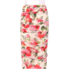 DOLCE & GABBANA Floral ruched stretch si - Gonne -