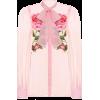 DOLCE & GABBANA Floral silk chiffon shir - Srajce - dolge -