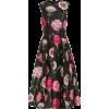 DOLCE & GABBANA Floral silk midi dress - Dresses -