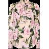 DOLCE & GABBANA Floral stretch silk blou - Long sleeves shirts -