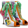 DOLCE & GABBANA JERSEY ANKLE BOOTS WITH - Boots -