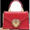 DOLCE & GABBANA Leather Tote Devotion Sm - Hand bag - 1,150.00€  ~ $1,338.95