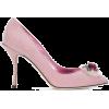 DOLCE & GABBANA Lori rose applique pumps - Klasyczne buty -