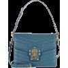 DOLCE & GABBANA Lucia leather shoulder b - Hand bag -