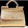 DOLCE & GABBANA Metallic textur - Hand bag -