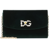 DOLCE & GABBANA Mini embellished velvet - Hand bag -
