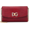 DOLCE & GABBANA Mini leather shoulder ba - Hand bag -