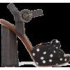 DOLCE & GABBANA Polka-dot canvas and raf - Classic shoes & Pumps -