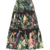 DOLCE & GABBANA Printed cotton midi skir - Suknje -