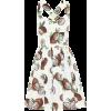 DOLCE & GABBANA Printed cotton minidress - Dresses -