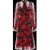 DOLCE & GABBANA Printed mini silk dress - Dresses - 1,950.00€  ~ $2,270.39