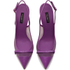 DOLCE & GABBANA SLING BACK SHOES IN IGUA - Classic shoes & Pumps -