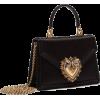 DOLCE & GABBANA  SMALL SATIN DEVOTION BA - Hand bag -