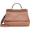 DOLCE & GABBANA Sicily Large leather tot - Borsette -