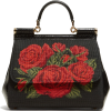 DOLCE & GABBANA  Sicily rose-stitched cr - Hand bag -