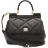 DOLCE & GABBANA Sicily small quilted-lea - Hand bag -