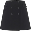 DOLCE & GABBANA Stretch-wool miniskirt - Skirts -