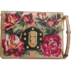 DOLCE & GABBANA Studded floral-print met - Сумочки -