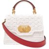 DOLCE & GABBANA  Welcome crochet and lea - Hand bag -