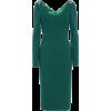 DOLCE & GABBANA Wool-blend crêpe dress - Dresses -