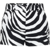 DOLCE & GABBANA Zebra-print stretch-cott - Shorts -